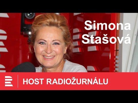 Host Radiožurnálu - Simona Stašová