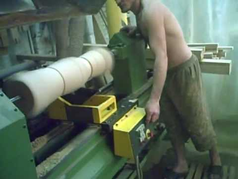 Токарные работы по дереву видео