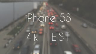 iPhone 5S 4k (UHD) video TEST (ProCam 2)