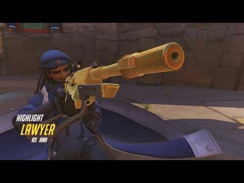 Overwatch - Ana vs HN Busan [05/19]