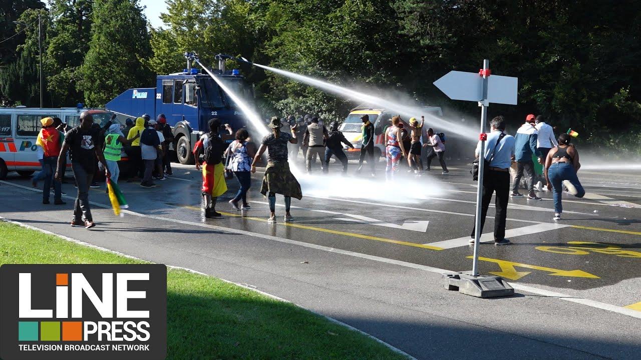 Visite et incidents de Paul Biya en Suisse / Genève - Suisse 17 juillet 2021