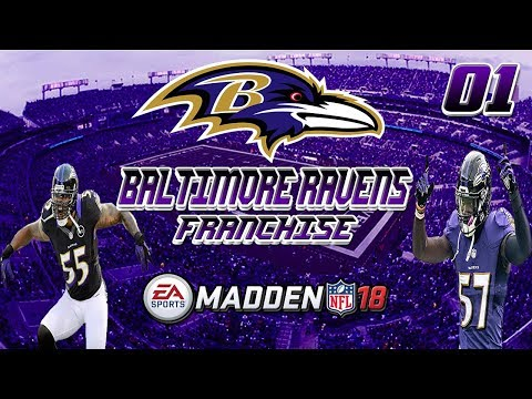 Madden NFL 18 | AFC North Rival Cincinnati Bengals | Baltimore Ravens Franchise | Episode 1