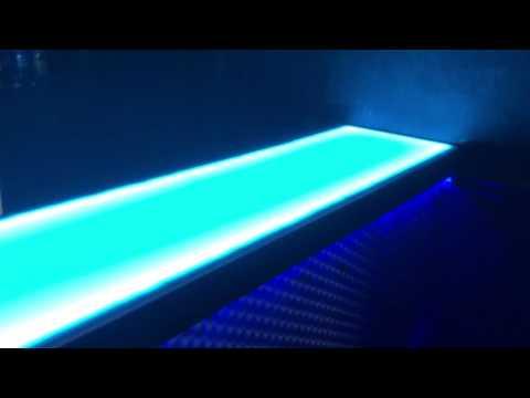 led dmx backlit bar top