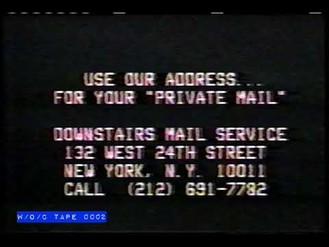 """Private Mail"" Service Commercial - 1980"
