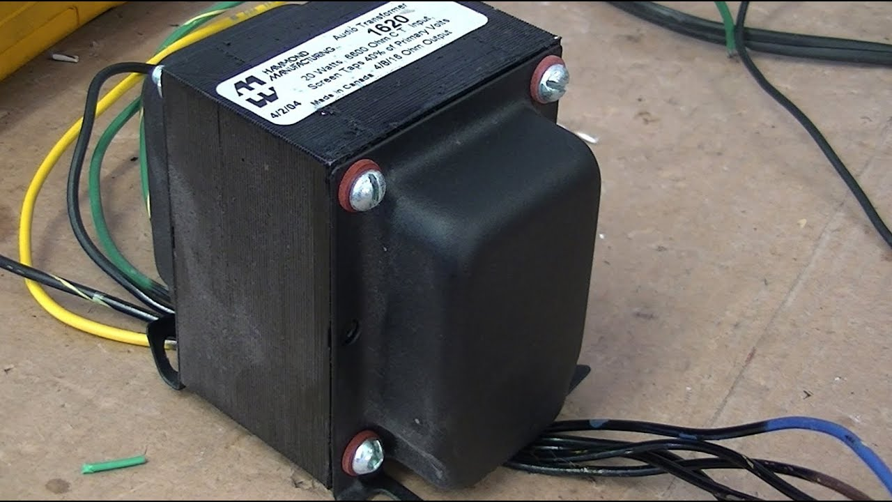 audio lecture 21 how to test audio output transformers opt impedance hv insulation dc r [ 1280 x 720 Pixel ]