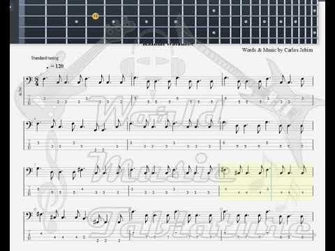 Jazz Licks   Girl From Ipanema, Improvisation BASS GUITAR TAB