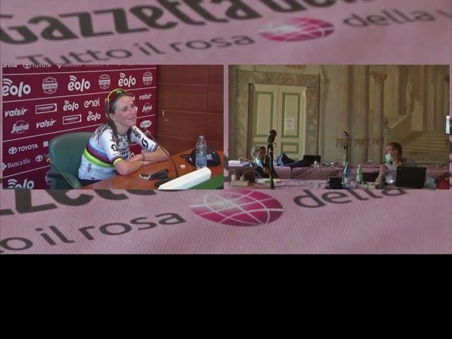Annemiek Van Vleuten - winners interview - Strade Bianche