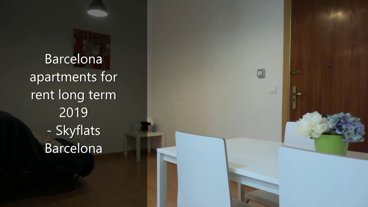 Barcelona apartments for rent long term 2019 - Skyflats ...