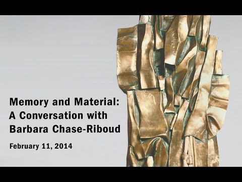Memory and Material: A Conversation with Barbara Chase-Riboud