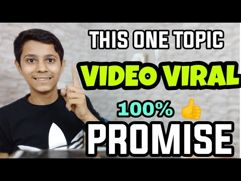 This One Topic Make Go Your Youtube Channel Videos Viral Promote Grow | Increase Views & Subscribers