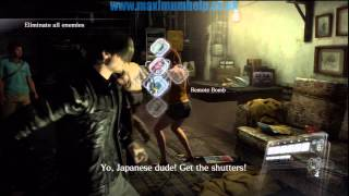 Leon Chapter 1 Pt4/4 Professional S Rank New Game No Inf Ammo Resident Evil 6 RE6 walkthrough PS3 HD