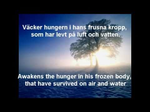 Nordman  Vandraren with Swedish lyrics and English subtitles