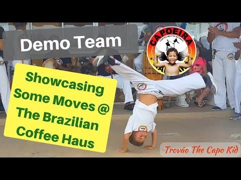 Capoeira Kid- playing capoeira with the...