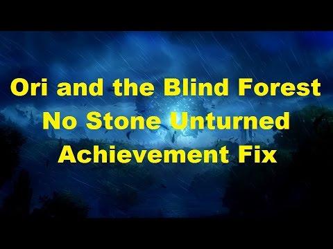 Ori and the Blind Forest - No Stone Unturned Achievement fix/glitch