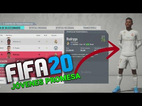 INCREÍBLES JÓVENES PROMESA PARA TU MODO CARRERA EN FIFA 20