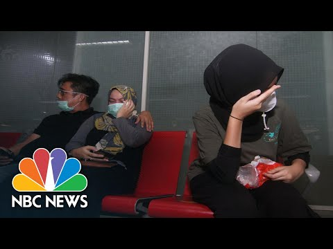Indonesian Plane With 62 People Aboard Crashes After Takeoff | NBC Nightly News