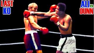 Muhammad Ali, Last Knock Out Score
