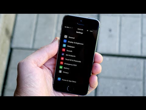 How To Enable Dark Mode iOS 11?