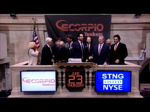 23 June 2011 Scorpio Tankers rings the NYSE Opening Bell