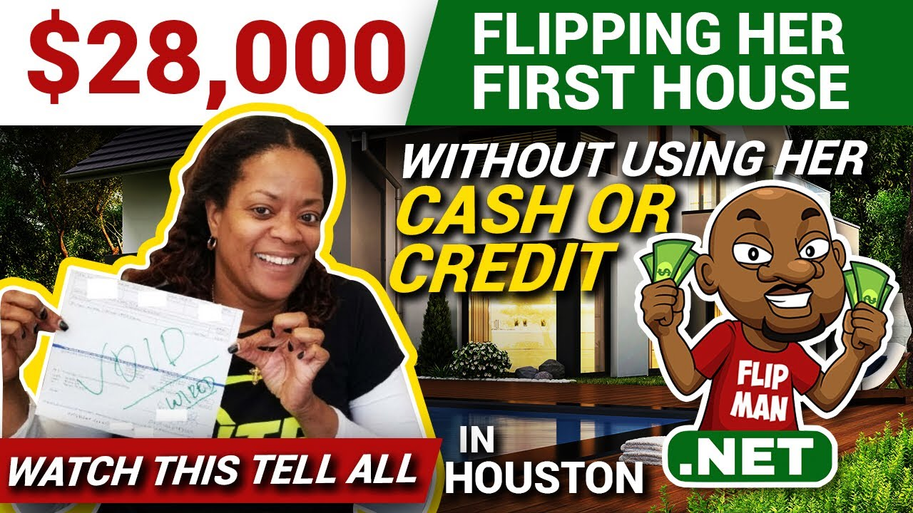 28 000 flipping her first house with no cash or credit in for Tips to flipping houses