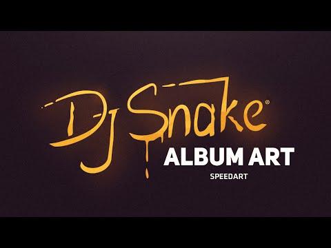 Dj Snake Album art speedart (Photoshop & Illustrator) by Swerve™