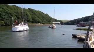 Yacht Running Aground