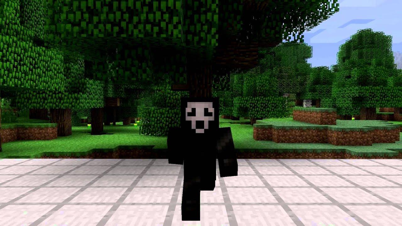 ghostface killer minecraft skin spotlight youtube