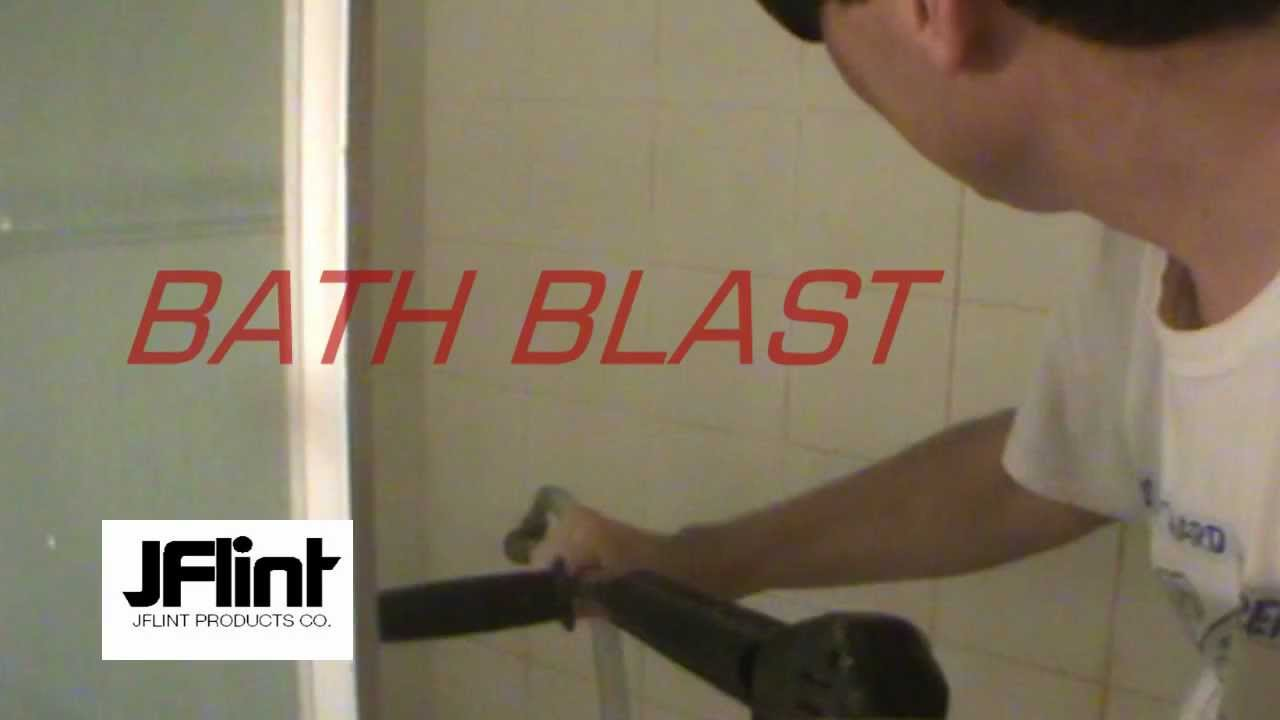 Mr Hard Water Bath Blaster How To Re Tub Tile With A Pressure Washer