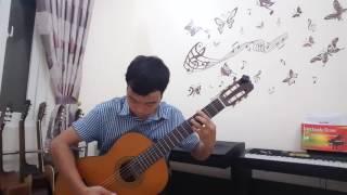 Nhớ về hà nội - Guitar solo