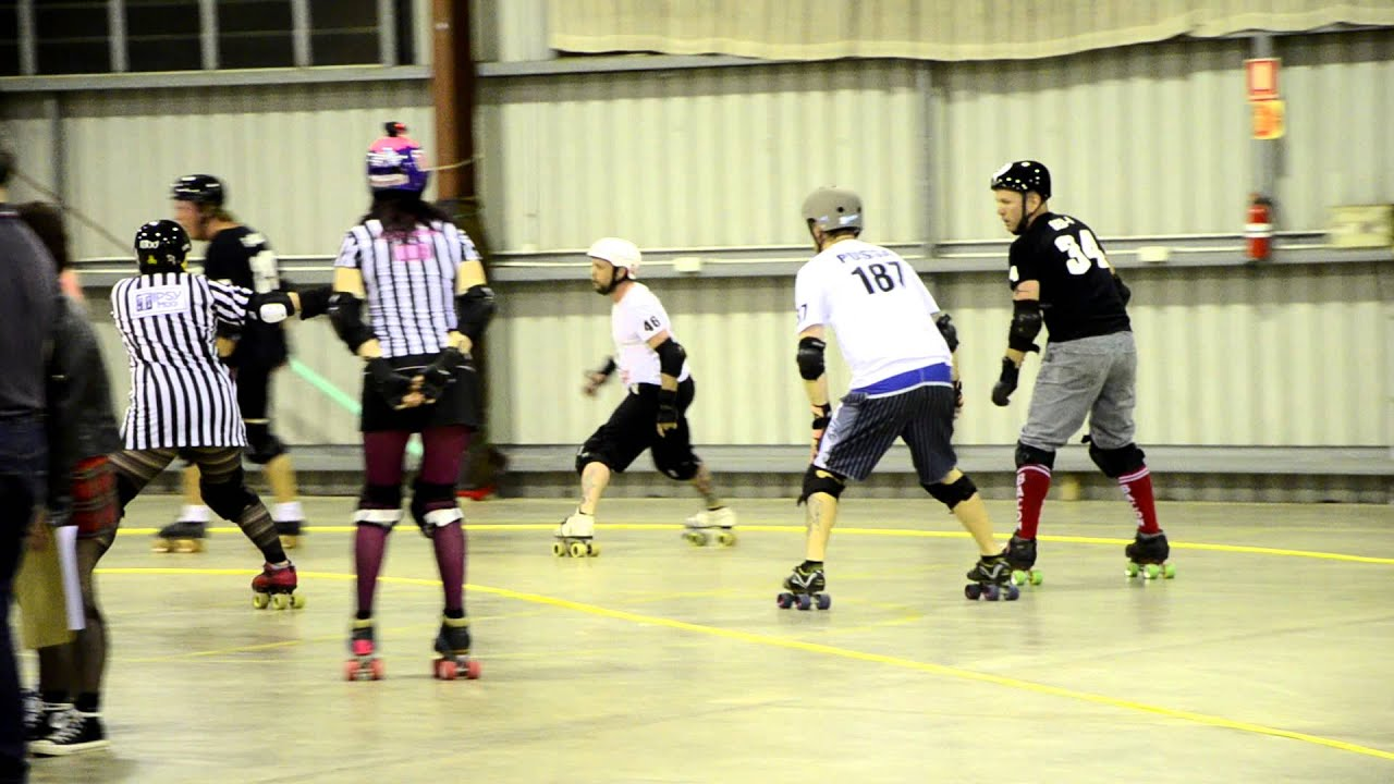 Roller skates queensland - Bcr Roller Derby Qld Merby Smack Down Round 18