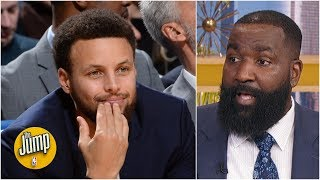 Steph Curry should take his time coming back from injury – Kendrick Perkins | The Jump