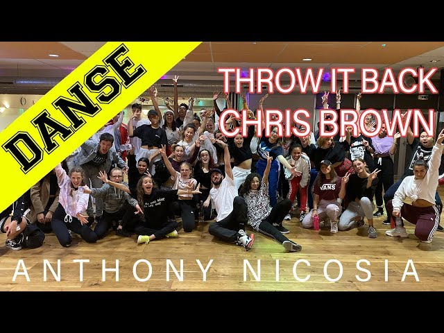DANCE WORSKSHOP | ANTHONY NICOSIA | THROW IT BACK - CHRIS BROWN | INPULSE | LYON | 2019 | JP CONCEPT