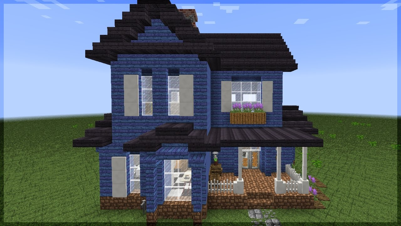 minecraft a casa americana mais bonita que eu j fiz