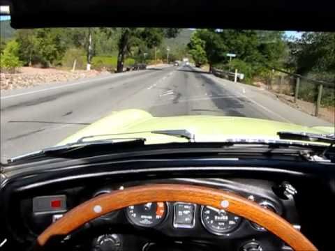1968 MGB Roadster Test Drive in Sonoma Wine Country