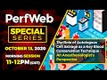 PerfWeb Special Series —Morning Session—Clinical and Financial Benefits of  Autotransfusion