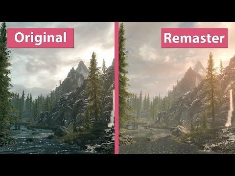 Skyrim – PC Original vs. Special Edition Remaster Graphics Comparison