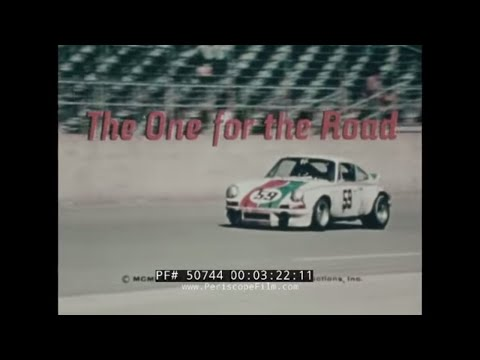"PORSCHE 911 TARGA PROMOTIONAL FILM  ""ONE FOR THE ROAD""  50744"