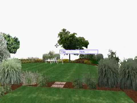 Etude de l 39 am nagement d 39 un jardin anglais youtube for Amenagement jardin anglais