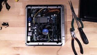 Antec ISK 110 Mini ITX Build Part 2: Time Lapse System Build