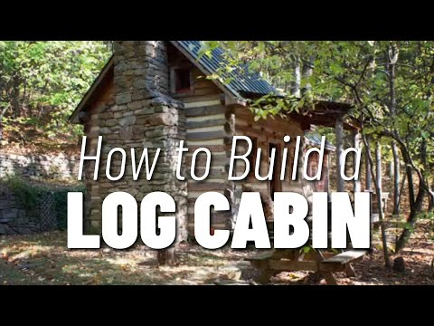 How To Build A Log Cabin Start With Good Design