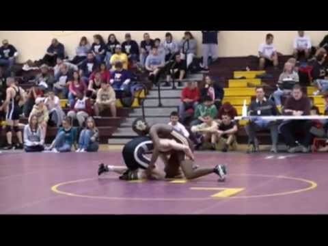 Micah Lewins Wrestling Highlight 08-09