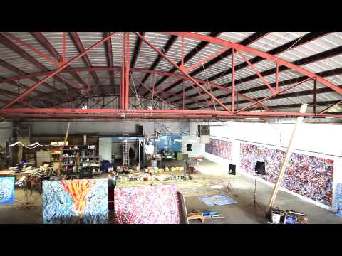 Contemporary Art Studio Extra Large Modern Abstract Paintings