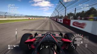 Grid Autosport Gameplay: Indycar Massive Crash