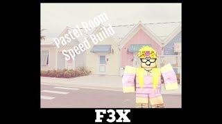 ROBLOX Speed Build F3X Pastel Room