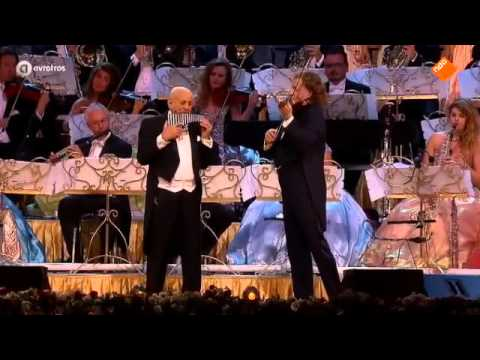 André Rieu & Gheorghe Zamfir - THE LONELY SHEPHERD - Bucharest
