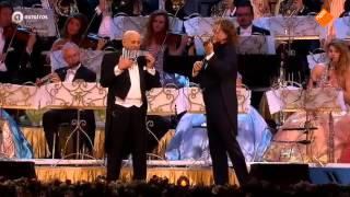 André Rieu & Gheorghe Zamfir - THE LONELY SHEPHERD - Bucharest 2015
