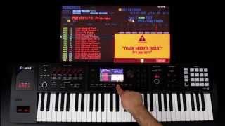 Roland FA-06/08 - Copy, Paste, Erase, and Insert