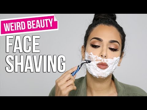 Weird Beauty | Why Shaving Your Face is Awesome! | حلاقة الوجه مفيدة للنساء؟