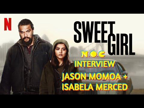 NOC Interview: Jason Momoa and Isabela Merced Discuss New Netflix Film, 'Sweet Girl'