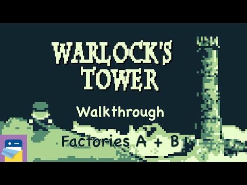 Warlock's Tower: Factory A + B Walkthrough & iPhone Gameplay (by Werther Azevedo)